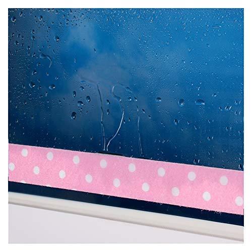 by.RHO Kondensations-Tropfband, selbstklebend, Pink, 24 cm, 3 m