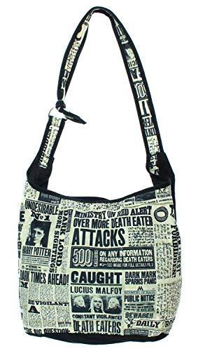 Hobo Handtasche Harry Potter Daily Prophet Schultertasche Hogwarts Crossbody Bag