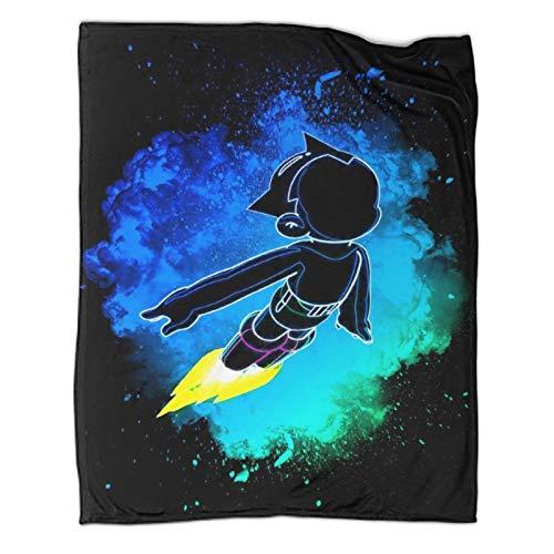 Manta de felpa de 130 x 180 cm, diseo de Anime Poster Soul of The Astroboy, de microfibra suave para uso domstico