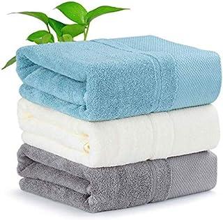 バスタオル 大判 3枚セット 3色 ホテルタオル ふわふわ 綿100% 通気 吸水 速乾 抗菌 防臭 家庭用 70cm*140cm