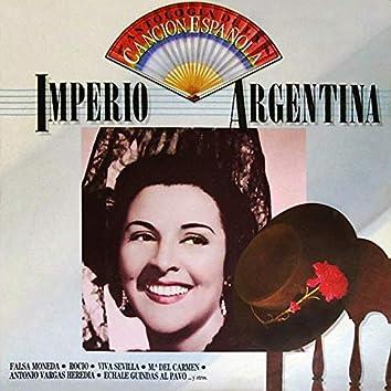 Antología de la Canción Española: Imperio Argentina