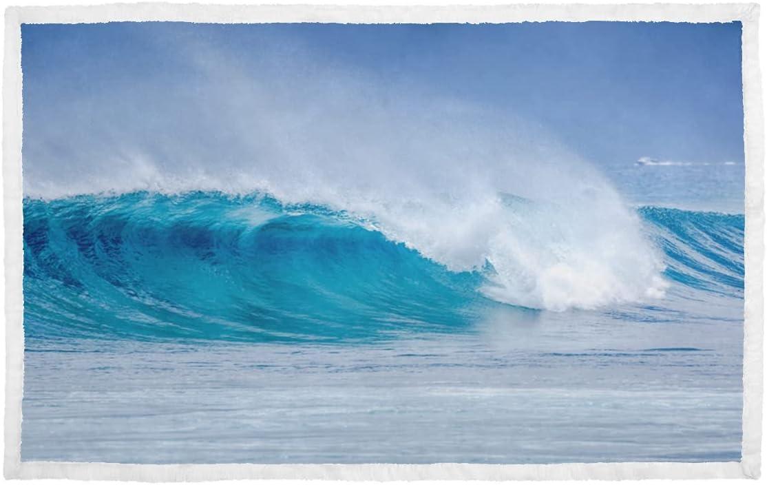 Kitten Blankets Big Breaking Ocean favorite Wave Beach On Blanket A S excellence Dog