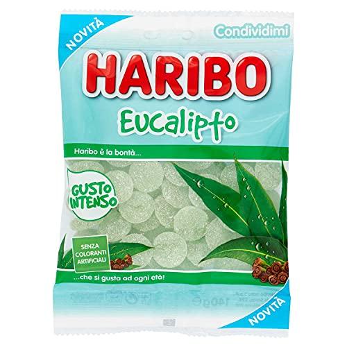Eucalipto Haribo - party feste candy - confezione da 175 gr Caramelle Gommose Morbide