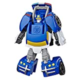 Transformers Playskool Heroes Rescue Bots Academy Chase The Police-Bot Converting Toy Robot, 4.5' Figure, Toys for Kids Ages 3 & Up