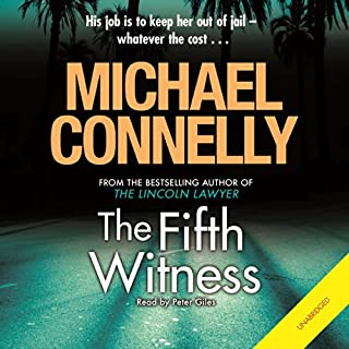 The Fifth Witness                   By:                                                                                                                                 Michael Connelly                               Narrated by:                                                                                                                                 Peter Giles                      Length: 13 hrs and 55 mins     723 ratings     Overall 4.3