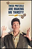 Close Up Seinfeld Poster Kramer Pretzels (93x62 cm) gerahmt
