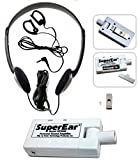 SuperEar Sonic Ear Personal Sound Amplifier Model SE5000 Complete System
