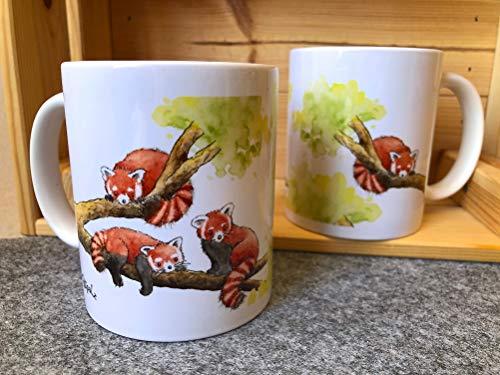 Tasse Roter Panda