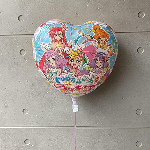 トロピカル?ジュプリキュア バルーン ギフト  女の子のお誕生日やお祝い、発表会に… (ヘリウムガス入り)