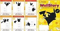 東洋ケース ウォールステッカー はがせる 壁掛け 廊下・玄関・収納内部 ポケモン ウォールストーリー ピカチュウ 放電チュウ P-PMW-052