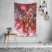 漫画 Fgo Fate/Grand Order 綺麗 萌え タペストリー インテリア 多機能壁掛け ファブリック壁掛け おしゃれ 部屋 窓 トップ飾り 個性 家庭飾り 装飾用品 約幅152x102cm