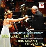 Schostakowitsch: Cellokonzert Nr. 1 op. 107 / Rachmaninov: Cellosonate op. 19 - Sol Gabetta