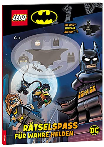 LEGO® DC - Rätselspaß für wahre Helden (LEGO DC Comics Super Heroes)