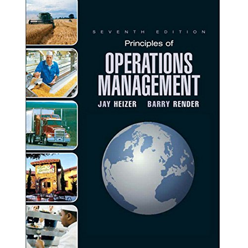 VangoNotes for Principles of Operations Management, 7/e cover art
