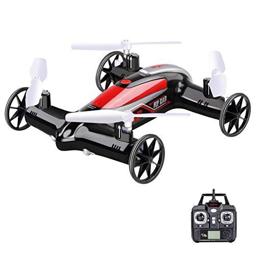 StillCool X9S Syma X9S 2.4 GHz 4CH 6 Achsen 360-Grad Geschwindigkeitsschalter Quadcopter mit 3D Flips Luft-Boden Fliegen Auto Multicopter RC Drohne Quadrocopter (schwarz)