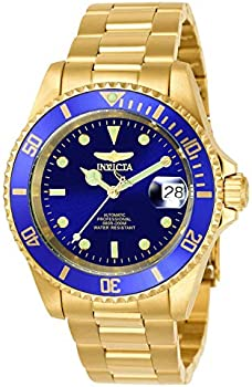 Invicta Men's Pro Diver 40mm Gold Tone Stainless Steel Automatic Watch