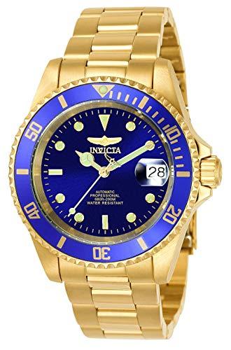 Invicta 8930OB Pro Diver Reloj Unisex acero inoxidable Automático Esfera azul