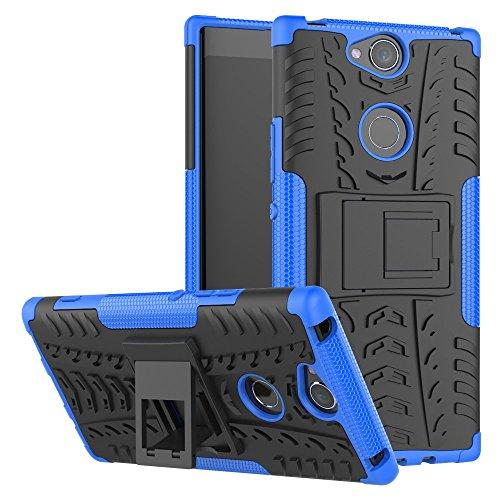 Sony Xperia XA2 Plus Handy Tasche, FoneExpert Hülle Abdeckung Cover schutzhülle Tough Strong Rugged Shock Proof Heavy Duty Hülle Für Sony Xperia XA2 Plus