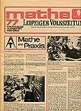 Leipziger Volkszeitung Mathe und Praxis 77 Sonderausgabe Dezember 1977