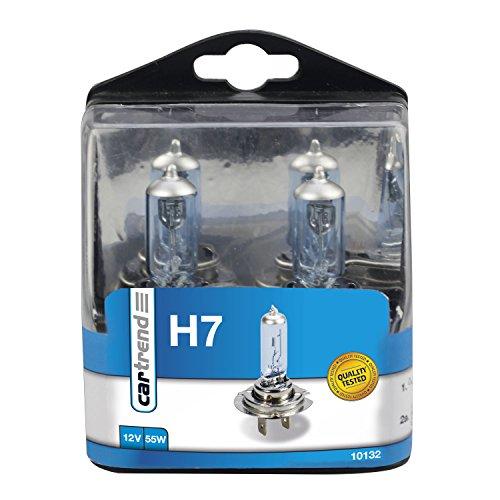 Cartrend Caja porta lámparas incandescentes 'Super White' H7