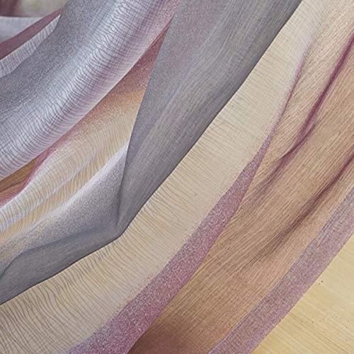 XPY-Curtain Tende a Drappeggio Camera da Letto del Salotto di Stoffa Spessa Moderna a Doppia Faccia èfinita, 200, H