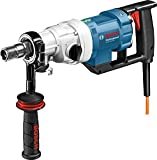 Bosch Professional Nass-Diamantbohrmaschine GDB 180 WE (5.2 kg, 2.000 Watt, 230 Volt, 180 mm Bohrbereich, Adapter Staubabsaugung, Kugelhahn, im Koffer)