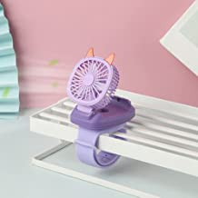 Kids Polsventilator, Mini flexibele opvouwbare USB horloge desktop ventilator, Kinderen speelgoed ventilator afneembare dr...