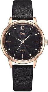 Wristband Women's Wrist Watches Ladies Series Girls Watch Female for Women Alloy PU Watch Rhinestone Scale Quartz Watch,Co...