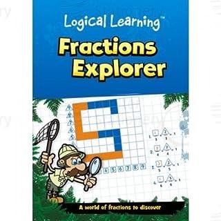 Brainbox Fraction Explorer Logical Learning Fun Maths Work Book Ks1, Ks2