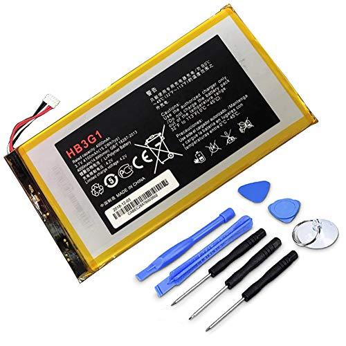 XITAIAN 15.2Wh 4100mAh HB3G1 Ersatz Akku für Huawei S7 S7-301U 301W 302 303 (7 inch) 701 931 with Tools
