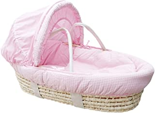 YXGH@ Newborn Moses Basket Baby Going Out of The Basket Car Portable Sleeping Basket Straw Basket Nursery Travel Beds Baby Cradle Bed
