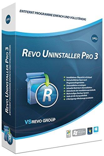 S.A.D Revo Uninstaller Pro 3 für 3 PCs