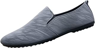 ZOZOE Men Casual Shoes Simple Breathable Lightweight Driving Wear-Resistant Male Shoes Daily Use