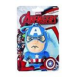 Underground Toys Juguetes subterránea AVG 01830 - Marvel Mini Felpa con el Sonido y remolques Capitán América, 10 cm