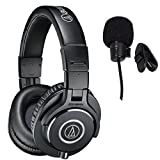 Audio-Technica ATH-M40x Professional Studio Monitor Headphones With...