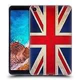 Head Case Designs Británicos De Gran Bretaña Banderas Vintage Carcasa de Gel de Silicona Compatible con Xiaomi Mi Pad 4