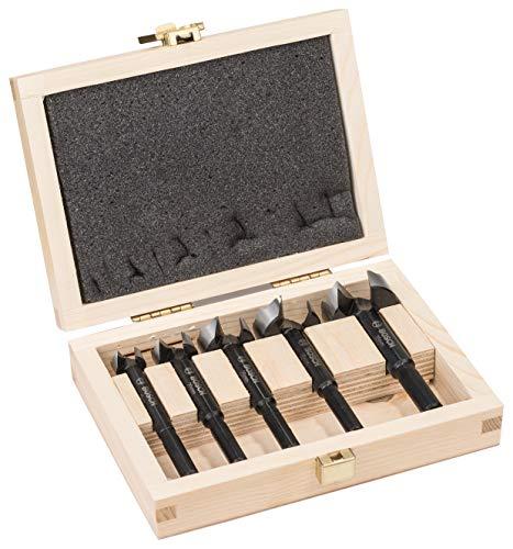 Bosch Professional 5-delig Forstnerboorset (voor hout, Ø 15/20/25/30/35 mm, lengte 90 mm, toebehoren boormachine)