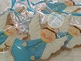 Lote de 10 galletas decoradas de Angelitos