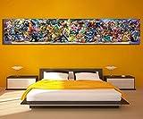 zysymx El Más Nuevo Super Smash Bros Ultimate Update Art Video Game Poster Cartoon Artwork Canvas Paintings Wall Art para La Decoración del Hogar50x150cmStück