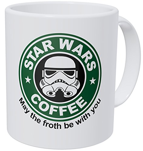 May The Froth Be With You Coffee Mug