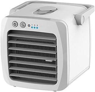 Amiispe Ventilador portátil de Aire Acondicionado Escritorio Personal para el hogar y la Oficina Enfriador de pantano, difusor de Niebla