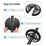 Patio Umbrella Light 28LED Parasol Mate Waterproof Light Wireless with 2 Level Modes and USB Rechargeable for Long Time… 13