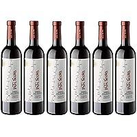 Pata Negra Roble Vino Tinto D.O Ribera del Duero, Volumen de Alcohol 13,5% - Pack de 6 Botellas x 75 cl - Total: 450 cl
