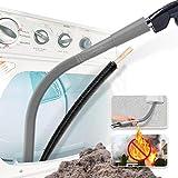 Holikme 2 Pack Dryer Lint Vacuum Attachment and Flexible Dryer Lint Brush, Dryer Vent Cleaner Kit, Vacuum Hose...
