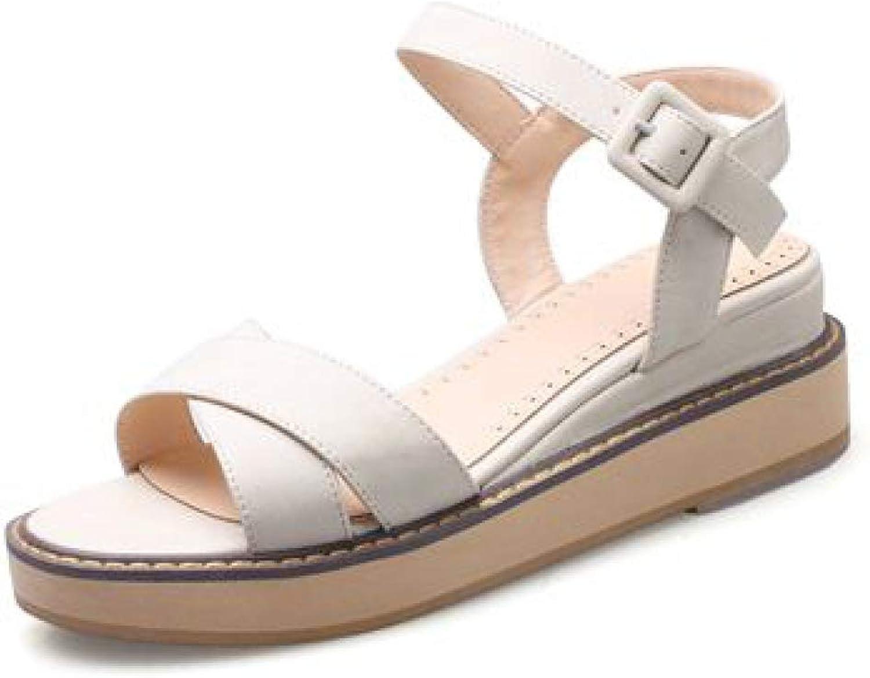 Summer High Heels Sandals Wedges Buckle Light Fashion Women shoes Popular for Home Outdoor Indoor
