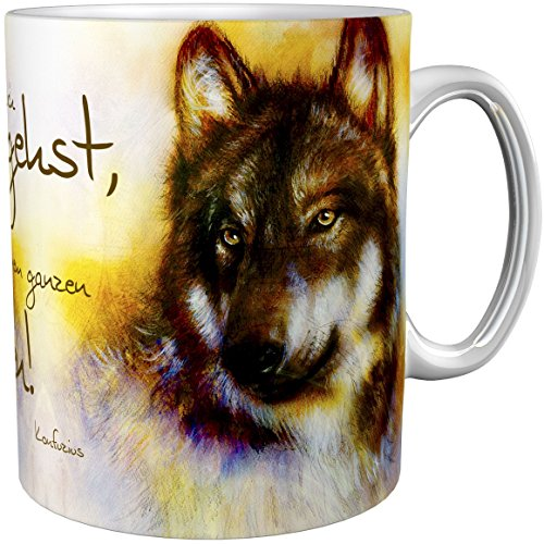 metALUm Kaffeetasse Wölfe # 330010007