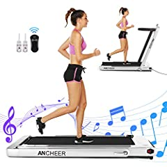 ✦ ✦U.S. Inventory!! ✦Smart 2 in 1 Under Desk Treadmill✦ ANCHEER 2 in 1 treadmill have the unique advantages in the market. When fold the handrail , it can as the treadmill with the walking mode, the speed of running belt is 1-4km/h. It becomes to run...