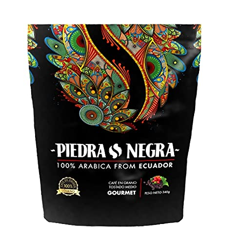 Piedra Negra High Altitude Coffee 12 oz Gourmet Medium Roasted Organic - Loja Zaruma Ecuador