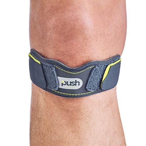 Push Sports Patella-Stützbandage, Kniebandage zur Schmerzlinderung, für Jumper und Läuferknie, Arthritis und zur Erholung von Verletzungen