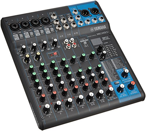 Yamaha MG10X Analog Mixer
